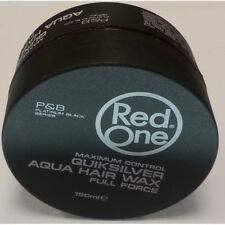 3 x Red One (RedOne) Aqua Hair Gel Wax Quiksilver 150ml We also sell Muk