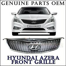 NEW OEM Dark Chrome Front Radiator Grill Hood for 2012 2013 2014+ HYUNDAI AZERA