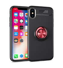 Soft Slim TPU Stylish Metal Stand Case Cover For iPhone 6 7 8 Plus X XS Max XR