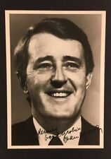 Brian Mulroney Autographed Photo 18th Canadian Prime Minister Politician