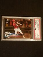 2018 Topps Chrome #175 Victor Robles PSA 10 Gem Mint RC Rookie NATIONALS