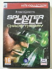 SPLINTER CELL Chaos Theory JEU PC NEUF SOUS BLISTER