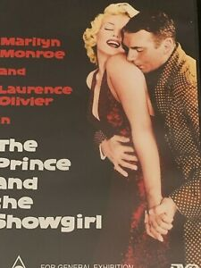 The Prince and the Showgirl  Marilyn Monroe, Laurence Olivier DVD Like New