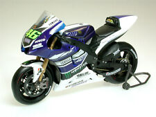 VALENTINO ROSSI Yamaha YZR-M1 2013 MotoGP Bike - Collectable Model - 1:18 Scale