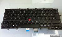Lenovo 04Y0912 Tastatur Keyboard (DEUTSCH) für ThinkPad X240, X250, X260 Schwarz