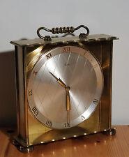 Ältere feine hochwertige Tischuhr Mauthe mechanische Tisch Uhr  ~50er