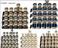 SHIP IN USA - 21PCS MINIFIGURES lego MOC Star Wars Hoth Officer Rebel Scout Troo