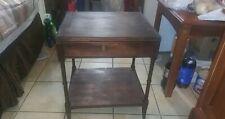 Antique Brandt Mahogany End Table