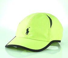 fa075787b9b Polo RALPH LAUREN Men Golf Baseball Performance Cap Rescue Neon Green  PANELS New