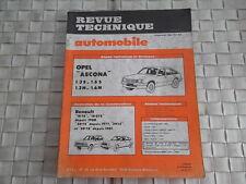 REVUE TECHNIQUE OPEL ASCONA - L - GL - SR - BERLINA - 1.3S - 1.6S - 1.3N - 1.6N