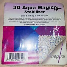 """NEW Inspira 3D Aqua Magic Stabilizer - 5"""" x 5"""" Squares"""