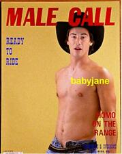 068 KEANU REEEES MY OWN PRIVATE IDAHO BARECHESTED ON GAY MAGAZINE COVER PHOTO