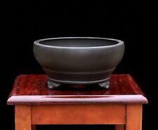 Bonsai Pot Fine Round 'Yixing' Ceramic