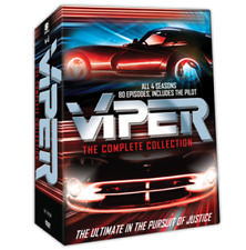 Viper TV Series Complete Collection All Seasons 1-4 DVD Set Show Episodes Dorian