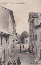 * MANZIANA - Via Antonio De Sanctis 1912