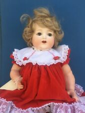 Extremely Rare Nippon (Japan) Produced Doll Marked Re In A Diamond Shaped