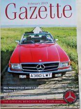 Mercedes-Benz Gazette Official Club Magazine Feb 2019 190E AMG 450SLC R107 Cars