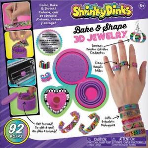 Shrinky Dinks Bake & Shape 3D Jewellery. Huge Saving