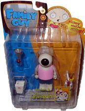 Family Guy Jasper Action Figure Pink Shirt Variant MIB Mezco Toy Cartoon Cousin