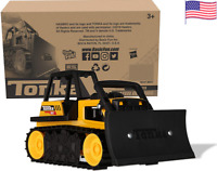 Tonka Steel Bulldozer Yellow Vehicle, outside construction kid toys kids job