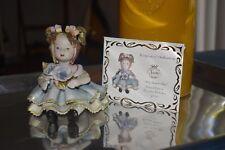"Sorelle ""MOLLY SPAGHETTI HEAD"" Porcelain Collectible Figurine-LIMITED EDITION"