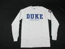 Duke Blue Devils Gildan Long Sleeve Shirt Men's White Used Small