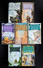 Lot Of 7 Irene Radford Books - Dragon Nimbus History 1-4 Magician Glass Wizard's