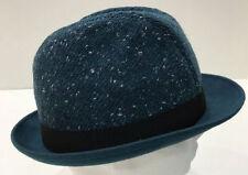 Chapeaux bleu en laine mélangée pour femme