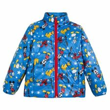 BOYS SIZE 5-6 DISNEY MICKEY MOUSE AND FRIENDS LIGHTWEIGHT PUFFY JACKET