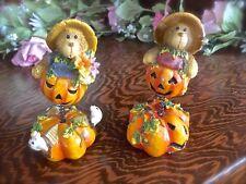Halloween Decorations, Halloween Figurines, Fall Pumpkins, Teddy Bear Figurines