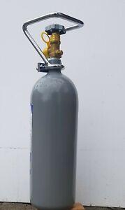 CO2 Mehrweg Eigentumsflasche gefüllt 2 kg Kohlensäure 10 Jahre TÜV