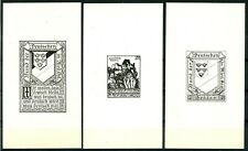 Stamps Austria Michel 144u Imperf Pair Mh Proof Vorzugstuecke 66782