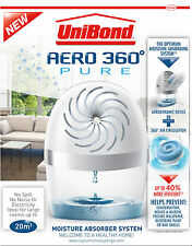 Unibond AERO 360° PURE Moisture Absorber System Healthy Home 1-Device & 1-Refill