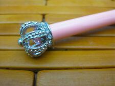 Harrod's crown pen in pink with swarovski crystals