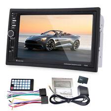 """NEU 7"""" 2 Din Bluetooth Auto Stereo Radio Player FM GPS Navi 12V mit Europa Karte"""
