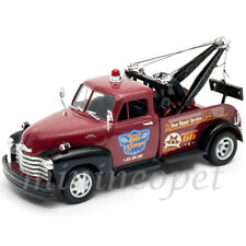 WELLY 22086 1953 53 CHEVY CHEVROLET TOW TRUCK 1/24 HIGHWAY 66 GARAGE RED