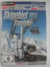 Station de ski simulator 2012-manager d'un Sports d'hiver Park-SKIEUR, des pistes