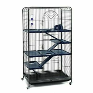 Little Friends Blenheim 140 cm Rat Cage with Accessories - Black
