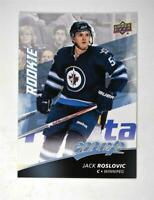 2017-18 Upper Deck MVP Base #242 Jack Roslovic SP - Winnipeg Jets RC