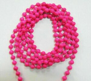 15 PAIRS OF 3 MM DIAMETER METAL BEAD CHAIN EYES FOR FLY TYING-CHOICE OF COLOURS