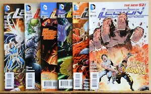 Lot of 6 Legion of Super-Heroes comics #17, 18, 19, 20, 21, 22, 2013 DC NM (9.4)