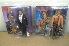 Neca Texas Chainsaw Massacre Leatherface vestidos de 2 y 3 Juego de 2 Figuras De Acción