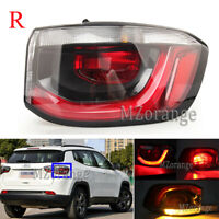 Right Passenger Side Outer Rear Tail Light Stop Lamp For Jeep Compass 2017-2019