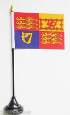 UK United Kingdom Royal Standard Polyester Table Desk Flag