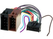 Pioneer Avh-X3500dab Power Wiring Harness Loom Lead iso Connection 16 Pin