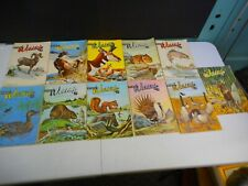 Vintage 1964 Wyoming Wildlife Magazines