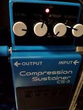 Boss CS-3 Compressore Limiter Sustainer pedale