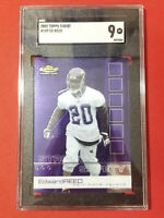 2002 Topps Finest Ed Reed #109 Rookie Card SGC 9 Mint Bal Ravens FREE SHIP HOF