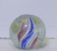 8720m Vintage German Handmade Solid Core Swirl Marble .58 Inches