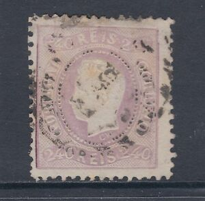Portugal Sc 33 used 1870 240r King Luiz, F-VF appearing